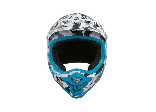 Photo casque Phoenix Plus blanc bleu rouge 3