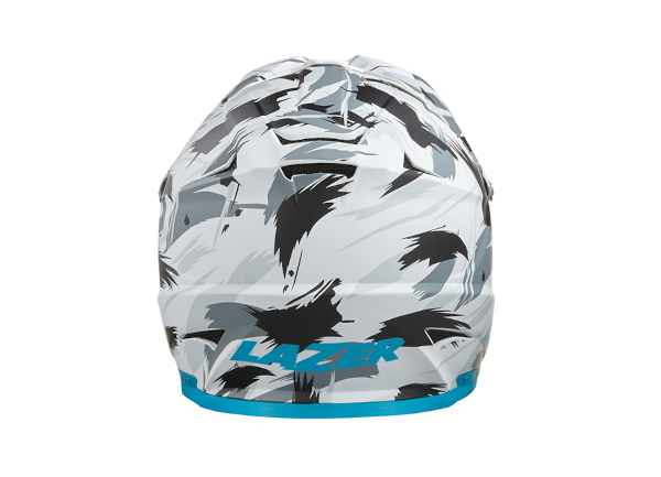Photo casque Phoenix Plus blanc bleu rouge 4