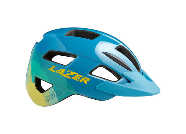 Gekko Helmet Blue Yellow