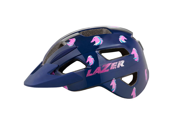 Lil'Gekko helmet Pink sea pony color 3