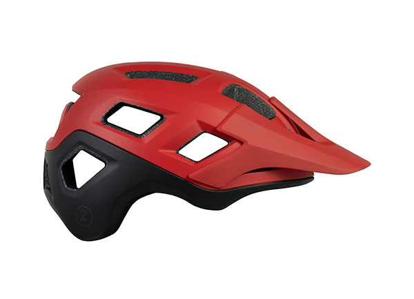 Coyote Helmet Red Black