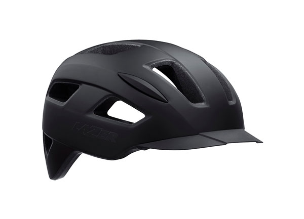 Helm Lizard Matte Black 1