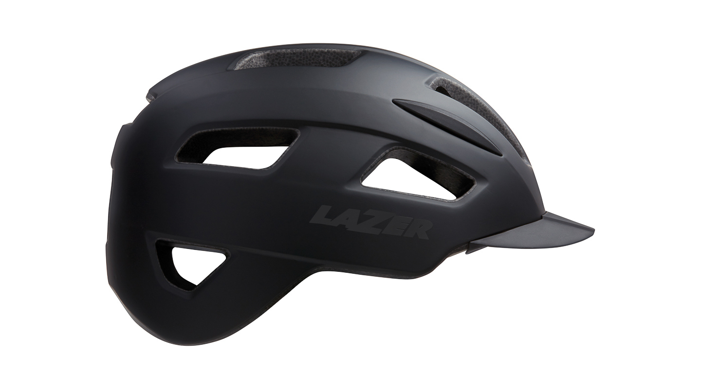 Helm Lizard Matte Black